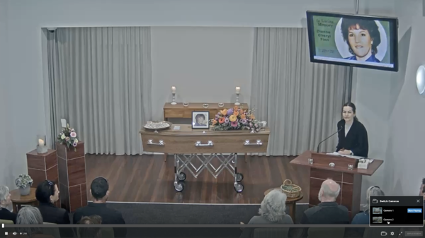 The OneRoom Platform, your own private online funeral viewing channel